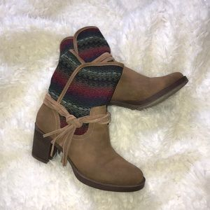 Knitted Ankle Booties